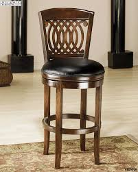 hillsdale vienna swivel wood counter stool 60955