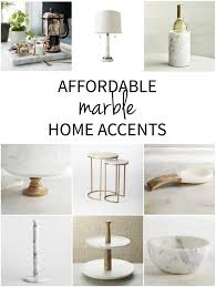 affordable marble home decor marbles kitchen accessories and