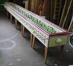 vintage foosball table for sale 10 coolest foosball tables foosball tables oddee