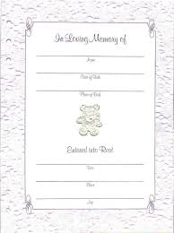 memorial guest book baby or child memorial guest book funeral register book in blue