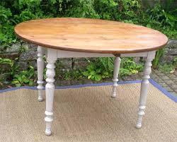 table de cuisine ovale table de cuisine ovale table ronde a volets ancienne en bois