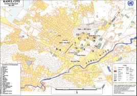kabul map kabul maps