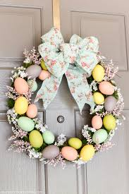 Easter Tree Decorations Sale by Easter Egg Wreath Create A Beautiful Spring Wreath With Easter