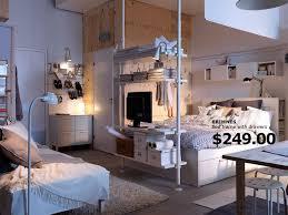 surprising ikea studio apartment design small ideas open plan home