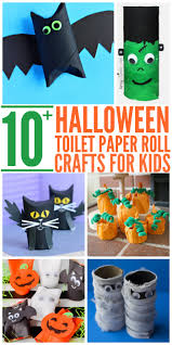 crafts for halloween for kids 10 easy halloween toilet paper roll crafts glue sticks and gumdrops