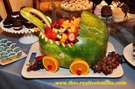 the creative bubble watermelon baby carriage