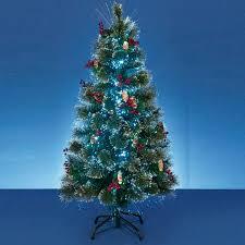 fibre optic twig christmas tree christmas lights decoration