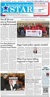 november 2 2011 fort bend community newspaper for sugar land
