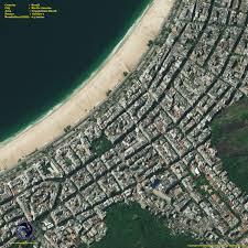 Satellite View Maps Geoeye 1 Satellite Image Of Copacabana Beach Satellite Imaging Corp