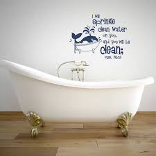 bathrooms and laundry archives a great impression ezekiel 36 25 i will sprinkle clean water on you wall decal