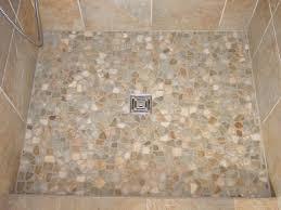 Bathroom Shower Floor Ideas Pebble Tile Shower Floor For Unexpected Effect