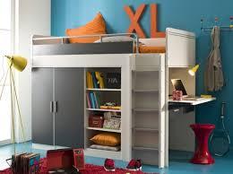 lit bureau armoire combiné lit compact 3suisses chambre enfants lit compact