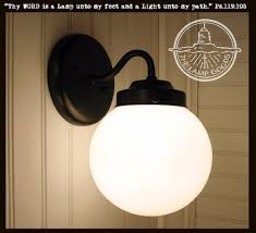 Wall Sconce Light Fixture Winterport Ii Globe Sconce Light Fixture The L Goods