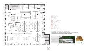 Ceo Office Floor Plan Gallery Of Edun Americas Inc Showroom U0026 Offices Spacesmith 4