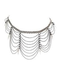 silver chain choker necklace images Ettika heriess of egypt silver chain choker online jewelry jpg
