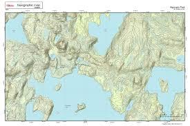 Hunting Gps Maps Printed Custom Topographic Marine U0026 Hunting Maps Of Your Area