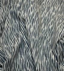 Robert Allen Drapery Fabric Robert Allen Fabric Akana Storm Grey White Striped Upholstery