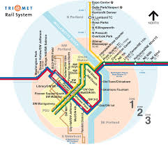 portland light rail map the albert apartments portland oregon transit trimet lightrail