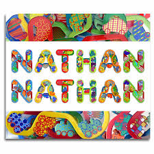 themed letters baby name letters themed 3d letters for nathan