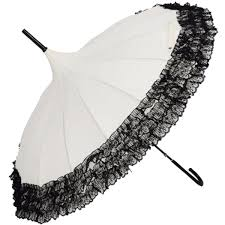 lace accessories parasol and lace umbrellas