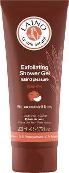 laino gel laino exfoliating shower gel island pleasure coconut stroem