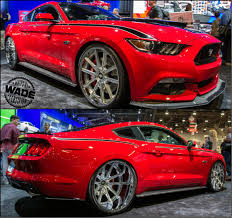 sema 2015 mustang sema 2014 2015 supercharged mustang with 24x15 wheels in the