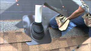 Half Round Dormer Roof Vents by Lifetime Tool Ultimate Pipe Flashing Fitting Installation Wmv