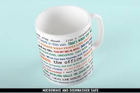Office Coffee Mugs Coffee Mug The Office Tv Show Funny Quotes Mug