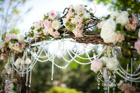 wedding arch entrance wedding roses portugal white weddings