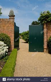 the entrance to the walled garden at felbridge hall a national