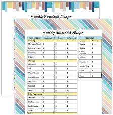 collections of family budget worksheet printable pdf bridal catalog