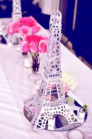 eiffel tower table centerpieces eiffel tower wedding centerpieces ideas