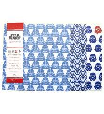 wars wrapping paper wars washizumi wrapping paper 5 sheets x 3 designs simply