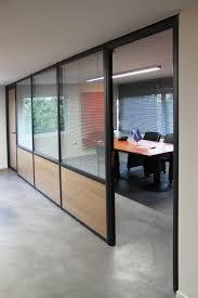 cloisonnette de bureau cloison de bureau cloison amovible en aluminium en bois de bureau