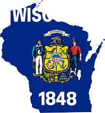 Wisconsin Maps by Wisconsin Flag Map U2022 Mapsof Net