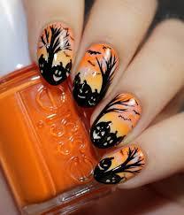 152 best halloween nails images on pinterest halloween nail art