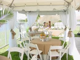 party rentals miami table chair rentals in miami broward