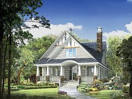 Bungalow House Plans At Eplans by Eplans Bungalow House Plan U2013 Narrow Lot Bungalow For Sloping Lot