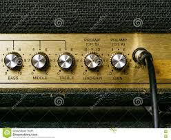 Old Knobs Old Amplifier Knobs Stock Photo Image 72148039