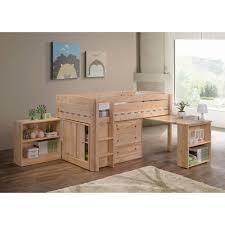 Twin Wooden Bed by Loft Beds Walmart Com