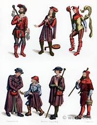 france gothic medieval dresses 15th century costume history
