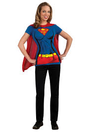 supergirl t shirt costume