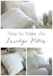 How Do I Make Cushion Covers How To Make Pillow Covers From Curtains Love Create Celebrate