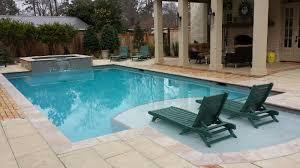 hattiesburg inground gunite swimming pool and vinyl swimming pool