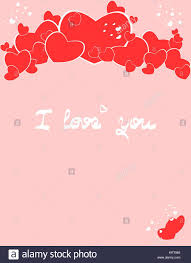 you it you buy it s day heart illustration with hearts of different sizes and words i
