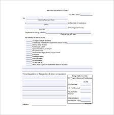immediate resignation letter template u2013 7 free word excel pdf