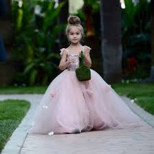 aliexpress com buy 2016 lovely tulle flower dress pink