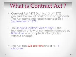 sections in law the contract act 1872 compiled by jbsc ppt video online download