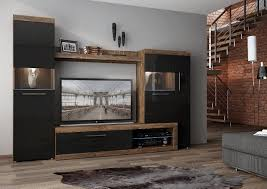 Black Gloss Living Room Furniture Black Wall Cabinets In The Living Room Amazing Sharp Home Design