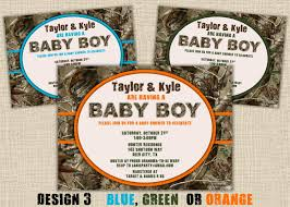 camo baby shower invitations camo it 39 s a boy baby shower